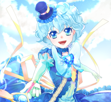 青の魔法少女【立ち絵制作の話】