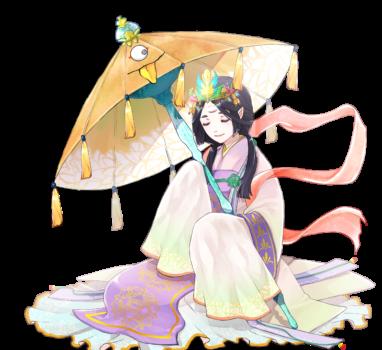 仙女さんと唐傘くん【立ち絵制作の話】