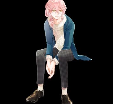 珊瑚髪の青年【立ち絵制作の話】