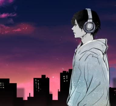 夕暮れから夜への道【立ち絵制作の話】